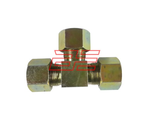 Hydraulic Fitting Equal Tee