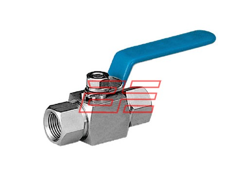 2 Way Ball Valve High Pressure F X F